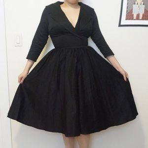 NWT M Pinup Couture Birdie Swing Dress